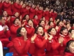 Sjevernokorejske navijačice su pravi hit: Pogledajte kako bodre svoje sunarodnjake