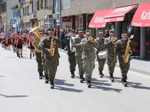FOTO/VIDEO: 27. obljetnica brigade 'Rama'