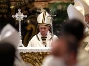 Papa posvetio uskrsnu molitvu starijima i bolesnima