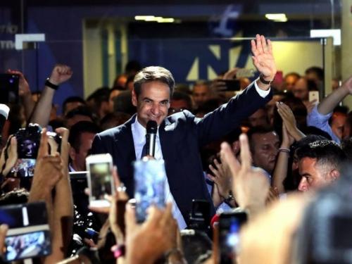 Tsipras priznao poraz i čestitao Mitsotakisu