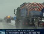 U Njemačkoj zbog snijega na sjeveru zemlje dijelom zaustavljen željeznički promet