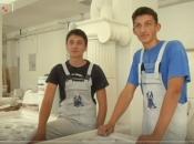 Budući klesari iz Doljana, Filip i Jakov Marijanović na HRT-u