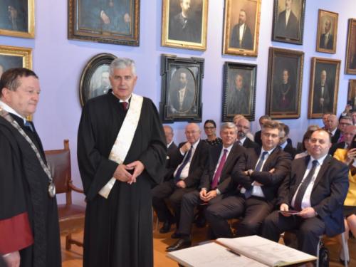 Čoviću u Zagrebu dodijeljen počasni doktorat