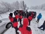 Šest migranata ostalo zameteno na Plješevici