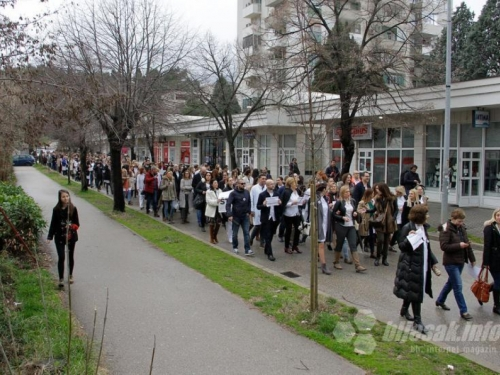 Medicinski radnici iz HNŽ: Nadamo se da nećemo morati u novi štrajk