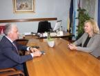 Herceg sa Željanom Zovko razgovarao o položaju Hrvata u BiH