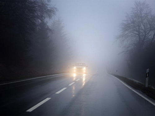 Magla smanjuje vidljivost na 50 do 100 metara
