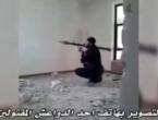 VIDEO: Džihadist htio ispaliti granatu kroz rupu u zidu pa se raznio