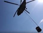 Požar na Čvrsnici i dalje aktivan, odgođeno polijetanje helikoptera