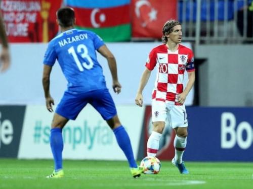 Hrvatska prosula pobjedu, Azerbajdžan došao do prvog boda