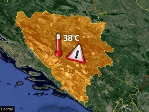 Stigli su vreli ljetni dani u BiH, danas temperature do 38 stupnjeva