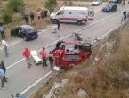 Tomislavgrad: U teškoj prometnoj nesreći povrijeđene tri osobe