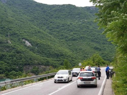 U prometnoj nesreći na M17 ozlijeđen motociklist