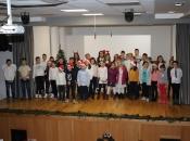 FOTO: Božićna priredba Osnovne škole u Rumbocima