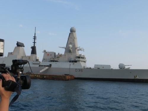 Britanski razarač, španjolska i turska fregata uplovili u Split