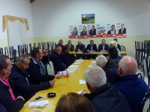 HDZ BiH i HNS održali javne tribine u Jaklićima, Podboru, Orašcu i Rumbocima