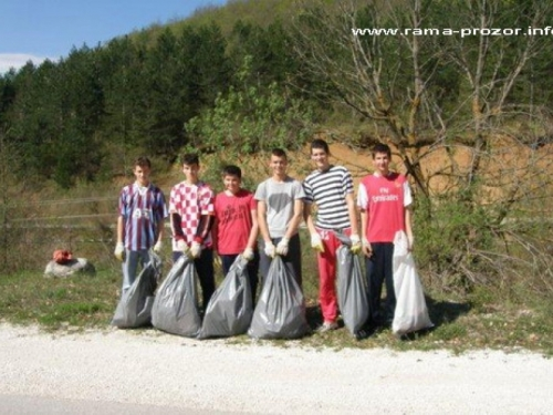 Akcija čišćenja u Podboru