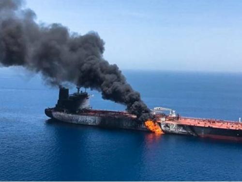 Iranski brod potopljen u prijateljskoj vatri u Omanskom zaljevu