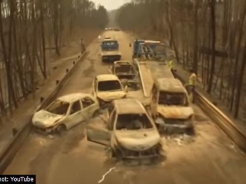 VIDEO: Zastrašujući snimci velikog požara u Portugalu