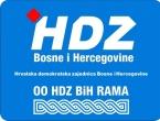 OO HDZ BiH Rama: Čestitka od 300 tisuća