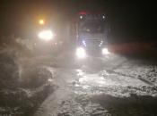 BIHAMK: Preko Makljena za teretna vozila obavezni lanci, put Prozor - Tomislavgrad zatvoren