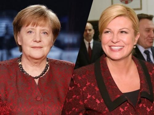 Kolinda nazvala Merkel