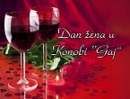 Proslava Dana žena u konobi Gaj