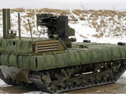 Testiranja: Rusiju će braniti roboti!