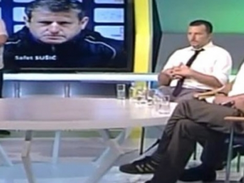 Safet Sušić napustio emisiju BHT-a nakon pitanja o Zmajevima