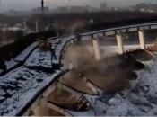 VIDEO: Urušio se stadion u Rusiji, dron sve snimio