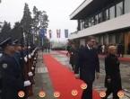 Vučić stigao na Pantovčak