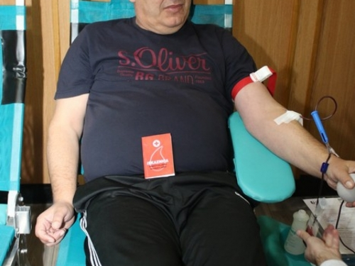 FOTO: U Prozoru održana akcija darivanja krvi