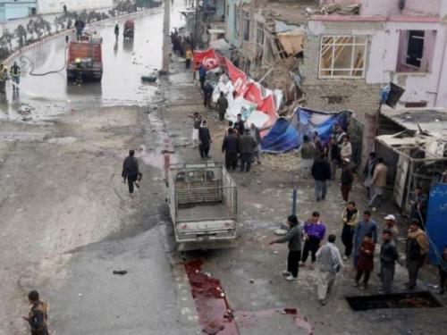 Samoubilački napad na konvoj stranih snaga
