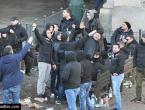Torino: Dvojica Dinamovaca završila u bolnici