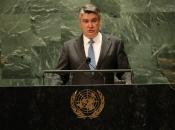 Milanović u UN: Hitno potrebne izborne reforme u BiH