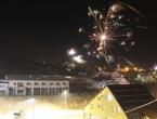 VIDEO: Novogodišnji vatromet u Prozoru