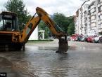 Jablanica: Pukla vodovodna cijev, voda se izlila na M-17