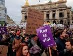 Deseci tisuća ljudi diljem Francuske prosvjedovali protiv obiteljskog nasilja