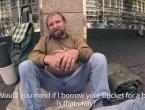 VIDEO: Posudio je kantu od beskućnika i onda...
