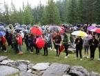 FOTO/VIDEO: Na Vranu služena sv. misa za poginule duvandžije
