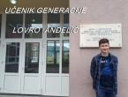 Lovro Anđelić učenik generacije u OŠ fra Jeronima Vladića Ripci