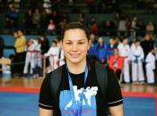 Ponovno na vrhu: Delfina Tadić državna prvakinja u karateu