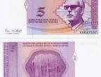 Rok za zamjenu novčanica od 50 feninga, 1 i 5 KM istječe 31. prosinca