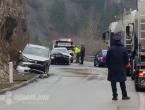 Dvije osobe ozlijeđene u prometnoj nesreći na ulazu u Jablanicu