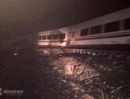 Čapljina: Vlak izletio iz tračnica