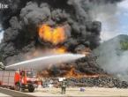 Ogroman požar bukti na deponiji kod Konjica