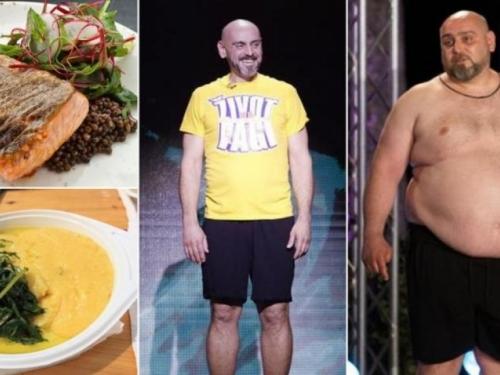 """Jelovnik pobjednika """"Života na vagi"""": Jeo losos, žgance i ječam pa skinuo 76 kg"""