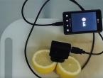Napunite mobitel pomoću limuna?!