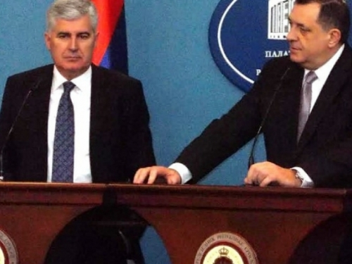 Čović i Dodik protiv obnavljanja tužbe BiH protiv Srbije