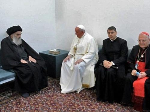 Irak: Susret pape Franje i šijitskog duhovnog vođe Sistanija